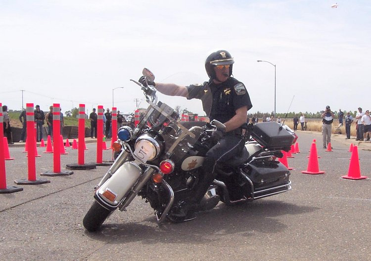 Police Motorcycle Rodeo - 4/30/05