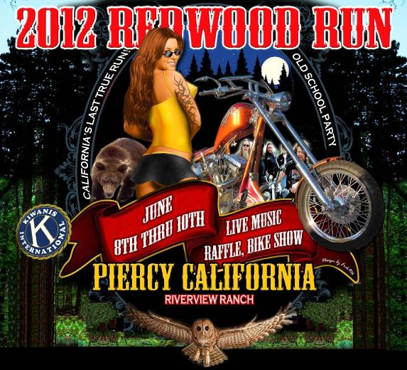JUN 8,9,10: 35TH ANNUAL REDWOOD RUN... photograph by Russell Holder