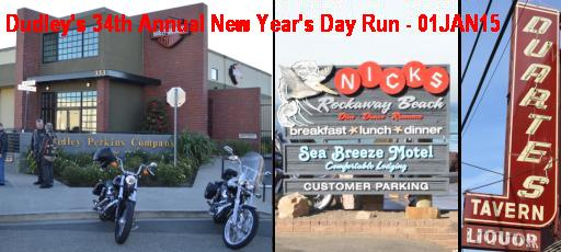Dudley's 34th Annual New Year's Day Run - 01JAN15