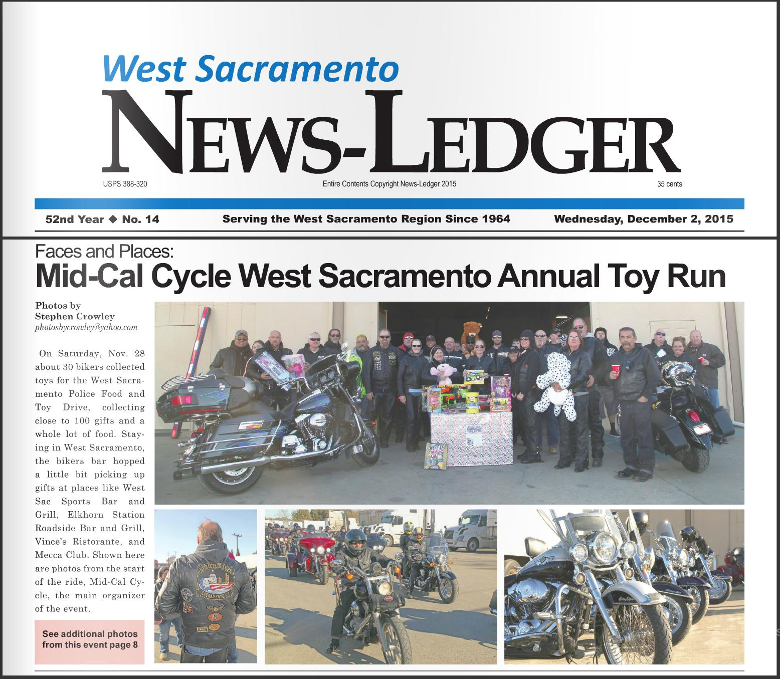 photograph by West Sacramento News Ledger photographer