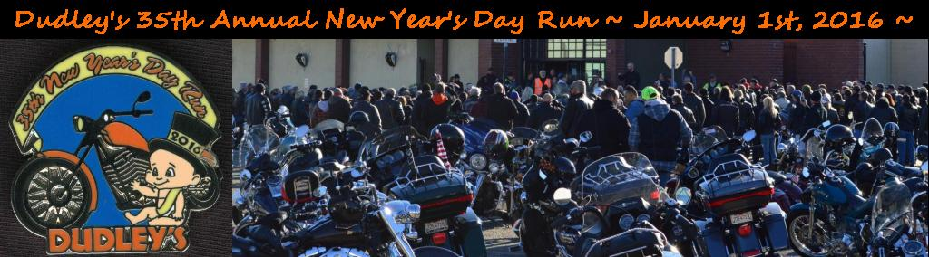 Dudley Perkins Company Harley-Davidson's 35th Annual New Year's Day Run - 01JAN16