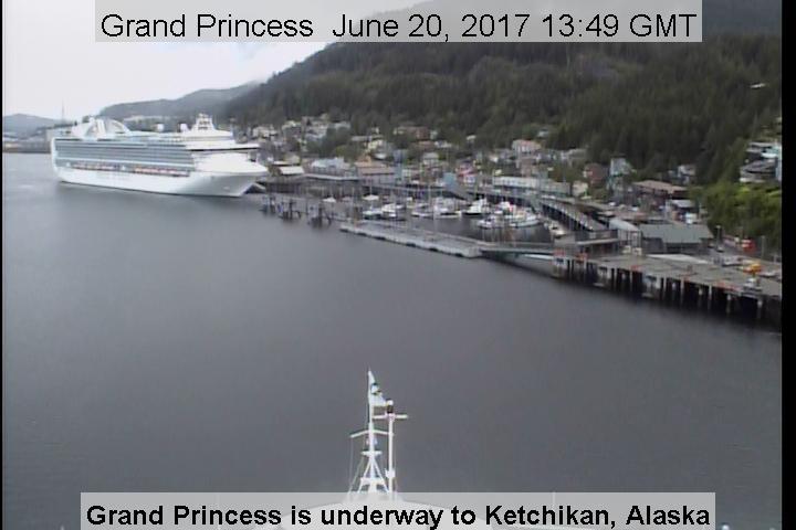 Grand Princess bridgecam
