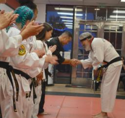 1st Degree Black Belt Test - May 29th 2019 - photograph by Russell Holder