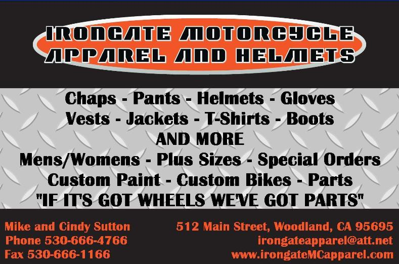 Irongate Motorcycle Apparel