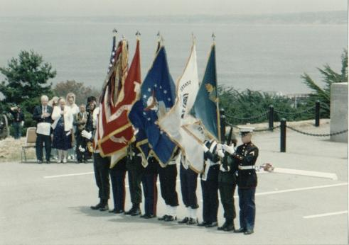 Commodore Sloat's landing is celebrated annually...
