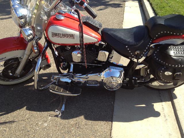 1991 Harley-Davidson Heritage Softail - $8500