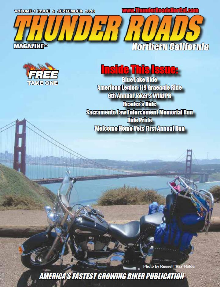 Thunder Roads cover from San Simeon Run - 10JUN10